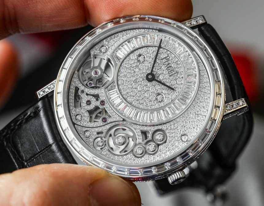 Piaget Altiplano-900D-Thinnest-Mechanical-Jewelry-Watch-
