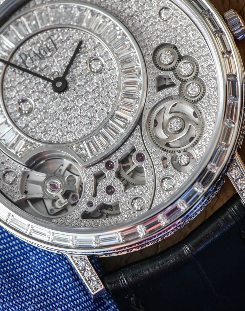 Piaget Altiplano 900D-Thinnest-Mechanical-Jewelry-Watch