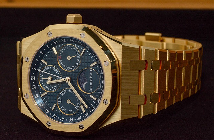 Audemars-Piguet-Royal-Oak-Blue-Dials-Replica