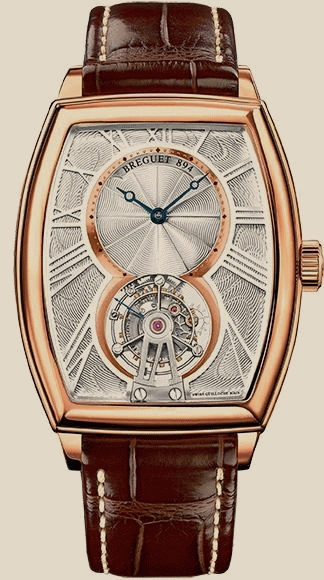 The rose gold cases with brown leather straps give people a classic and gentle image.