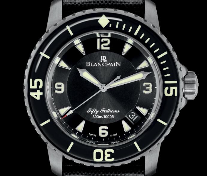 The new Blancpain focuses more on the instrumentality.