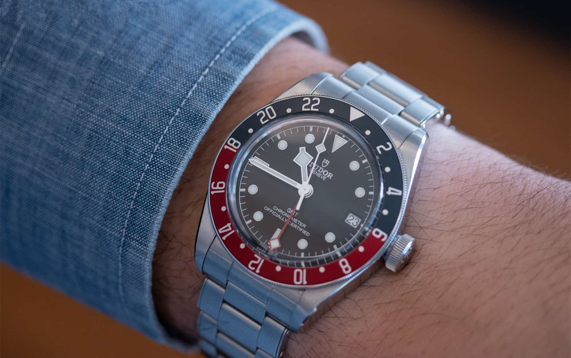 This Tudor has been favored by many watch lovers by its brilliant design and low price.
