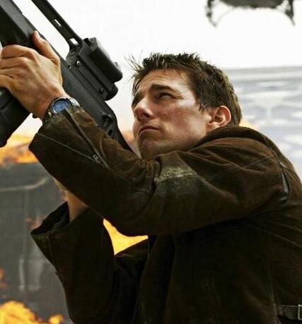 The G-Shock looks cool on Tom Cruise's wrist.
