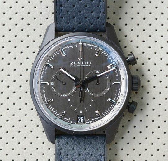 The material of this Zenith looks like the titanium but it is not.