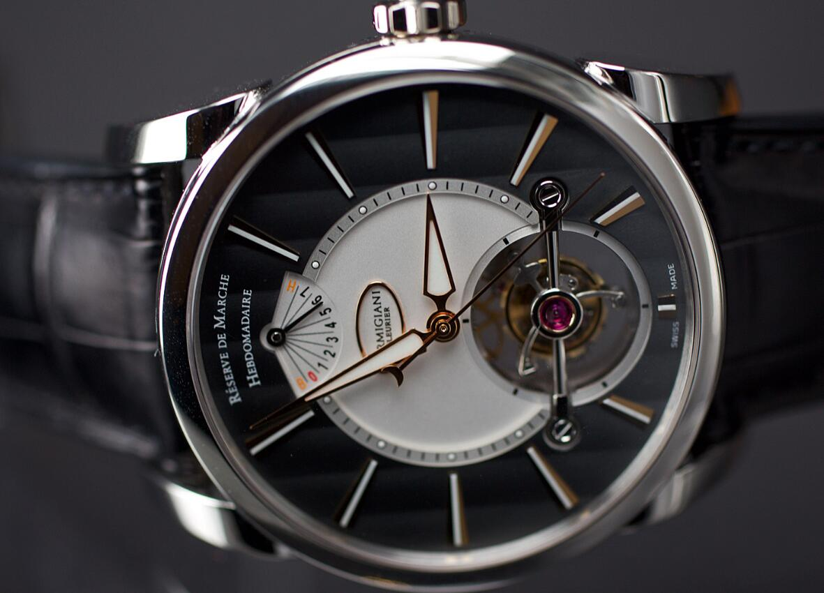 Swiss-made reproduction watches have magic dial design.